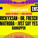 Courtyard ft Rickyxsan, Dr. Fresch & Enschway Event Thumbnail Image