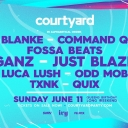 Courtyard Live ft. Ganz, Just Blaze, Quix, Odd Mob + More Event Thumbnail Image