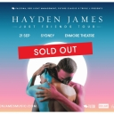 Hayden James - Reserved Seating (Sold Out) Event Thumbnail Image