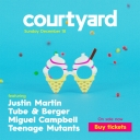 Courtyard Party Ft. Justin Martin and more! Event Thumbnail Image