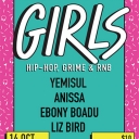 Girls | Hip-hop, Grime & RnB Event Thumbnail Image