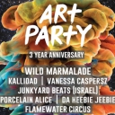 Art Party Turns 3 Event Thumbnail Image