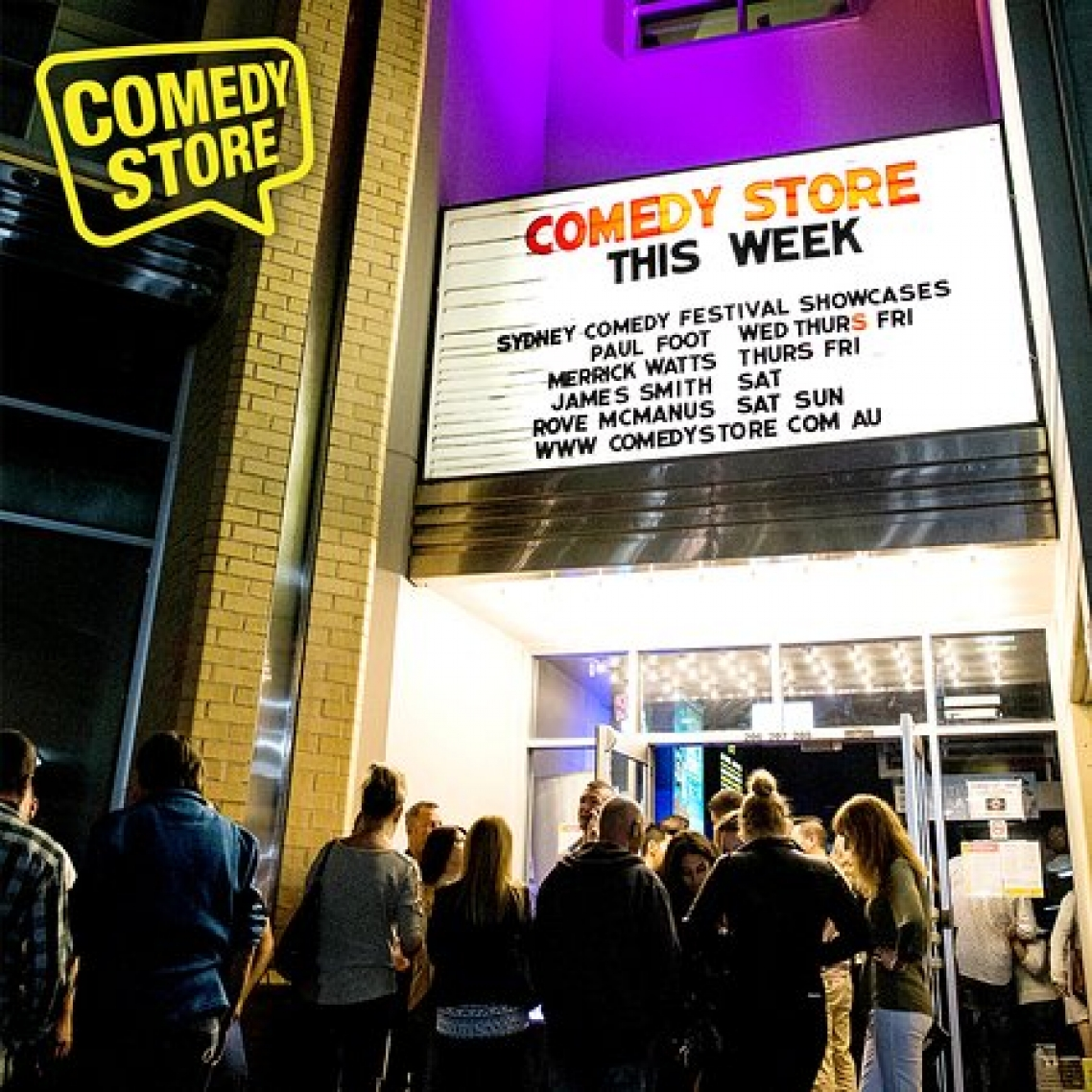 Comedy Store Main Image