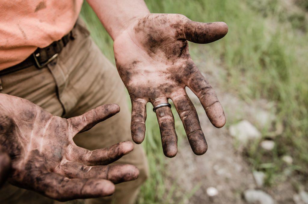 hard workers hands