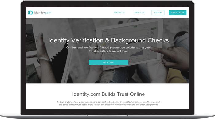 Identity.com Homepage