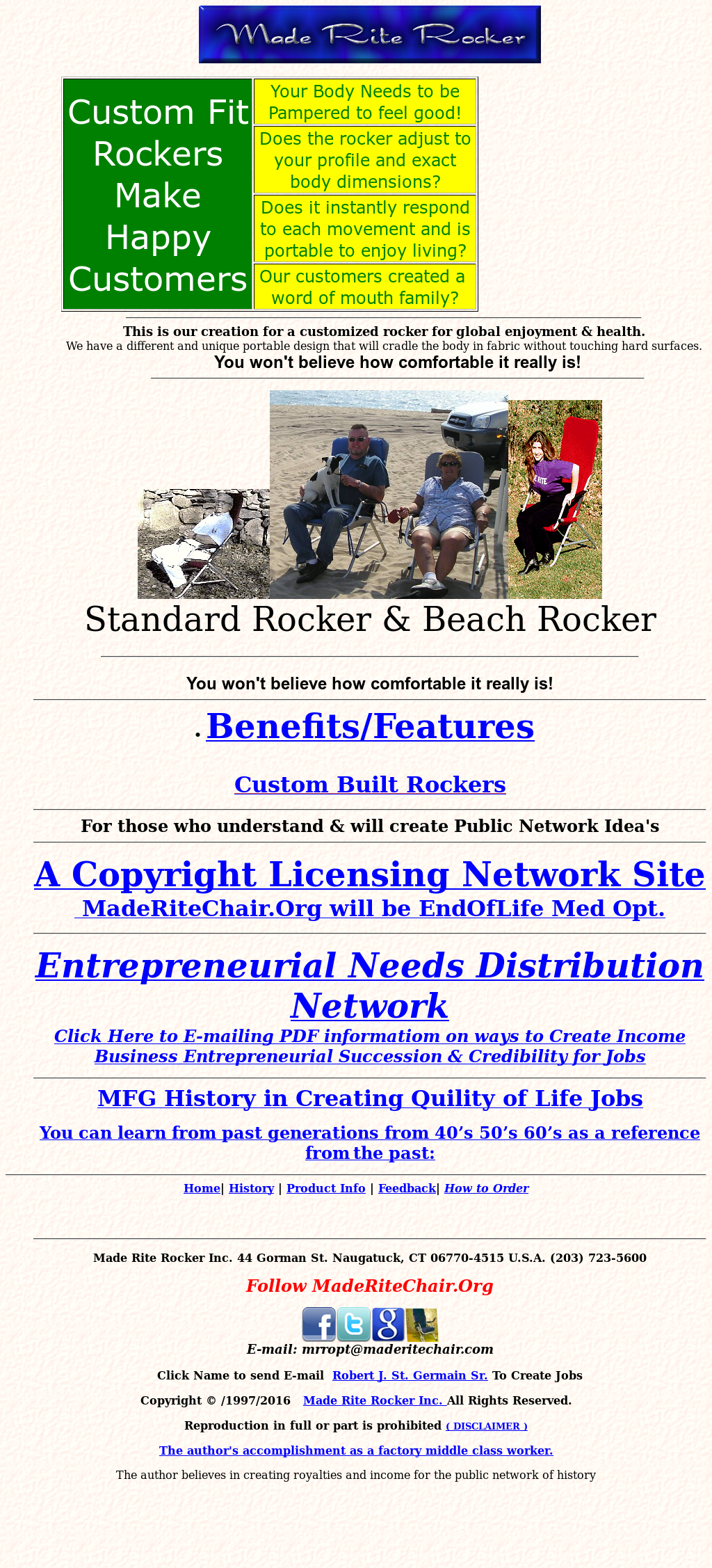 Made Rite Rocker Competitors, Revenue and Employees - Owler
