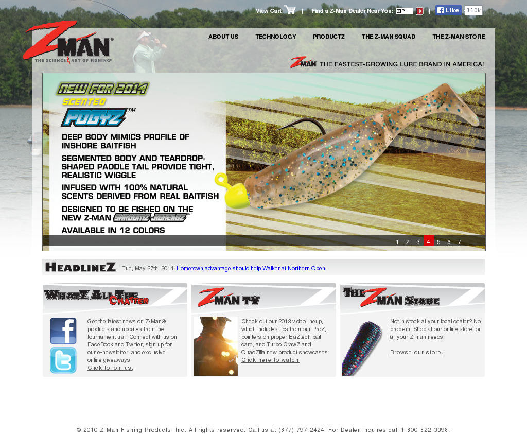 Z man fishing products company profile owler for Z man fishing products