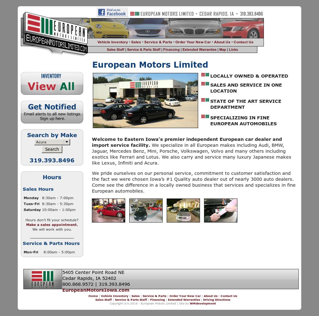 European Motors Cedar Rapids
