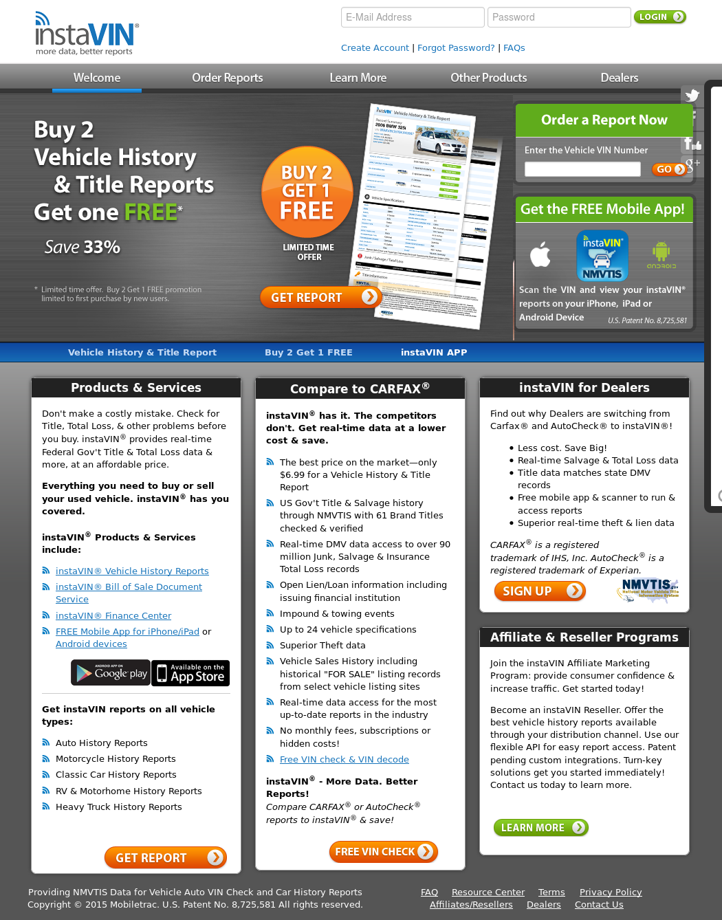 free motorcycle history report  instaVIN Competitors, Revenue and Employees - Owler Company Profile