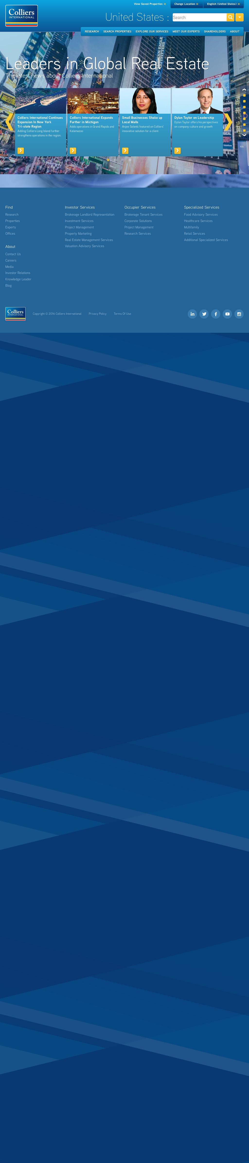 Site officiel vente chaude choisir le plus récent Colliers Competitors, Revenue and Employees - Owler Company ...