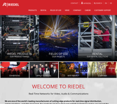 riedel communications wuppertal presse