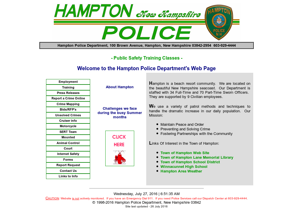 Hampton Police Department Competitors, Revenue and Employees