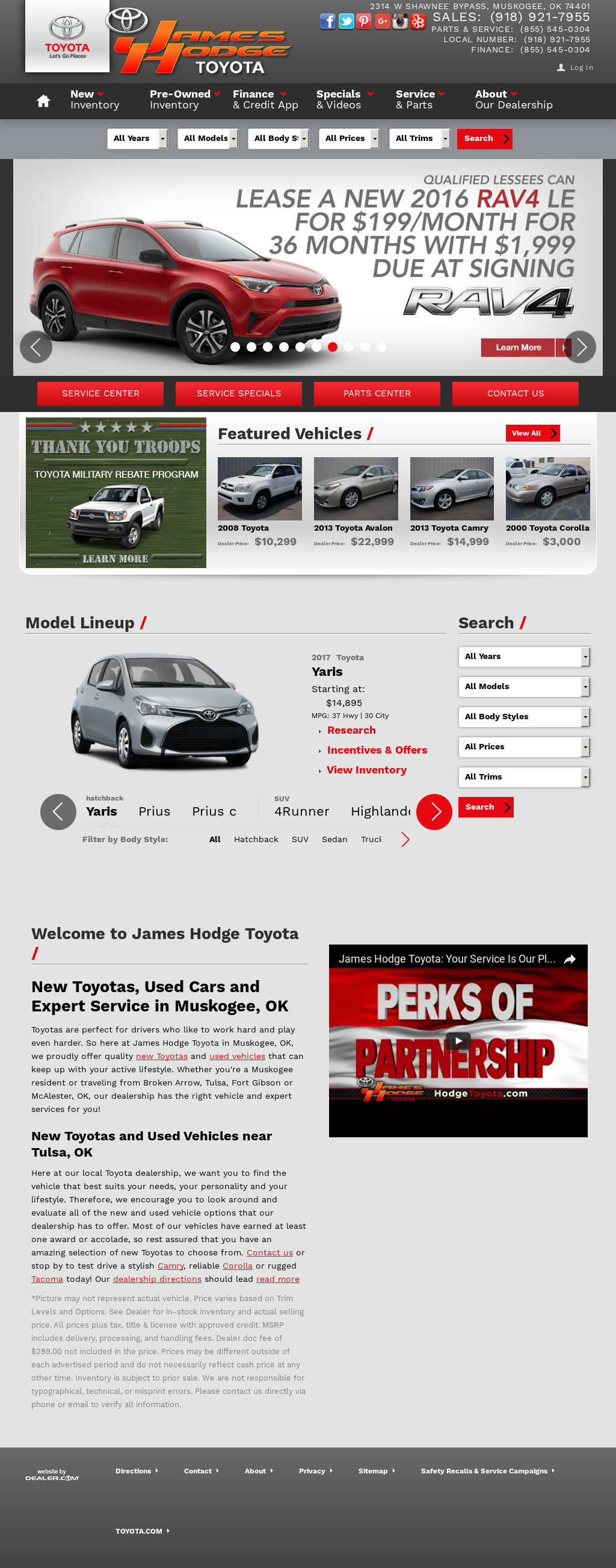 Toyota Of Muskogee >> Toyota Of Muskogee Competitors Revenue And Employees