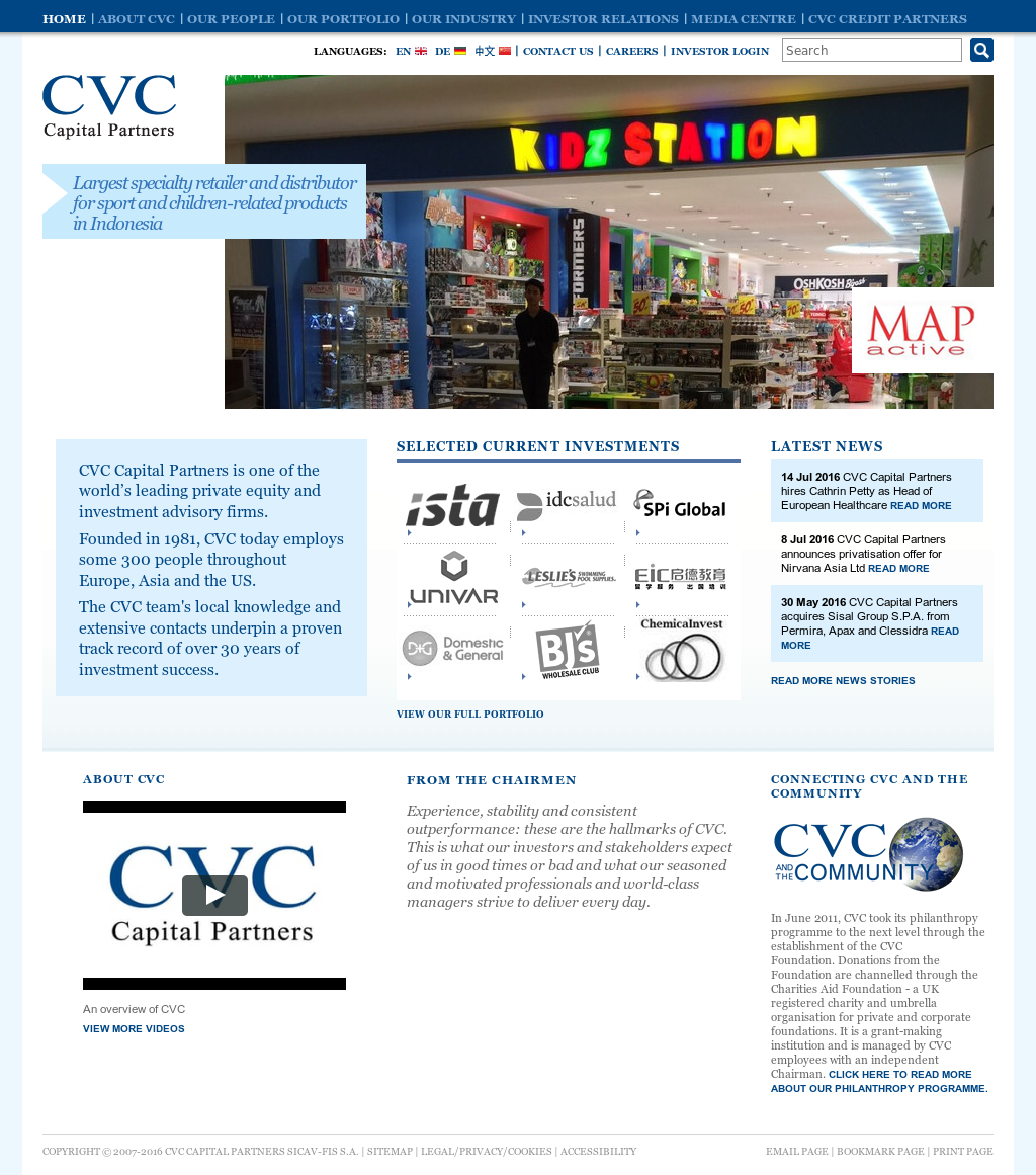 CVC Capital Partners Competitors, Revenue and Employees