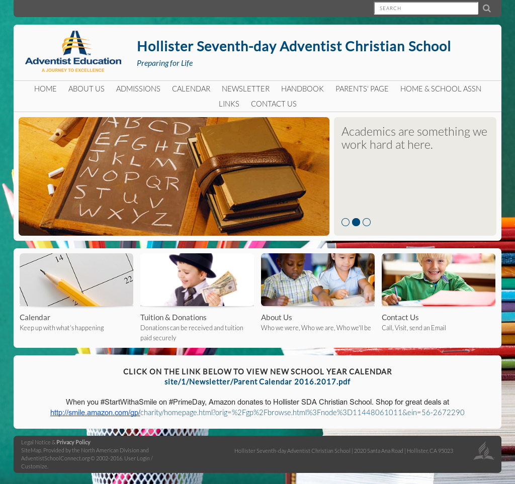 Hollister Sda Christian School Competitors, Revenue and Employees