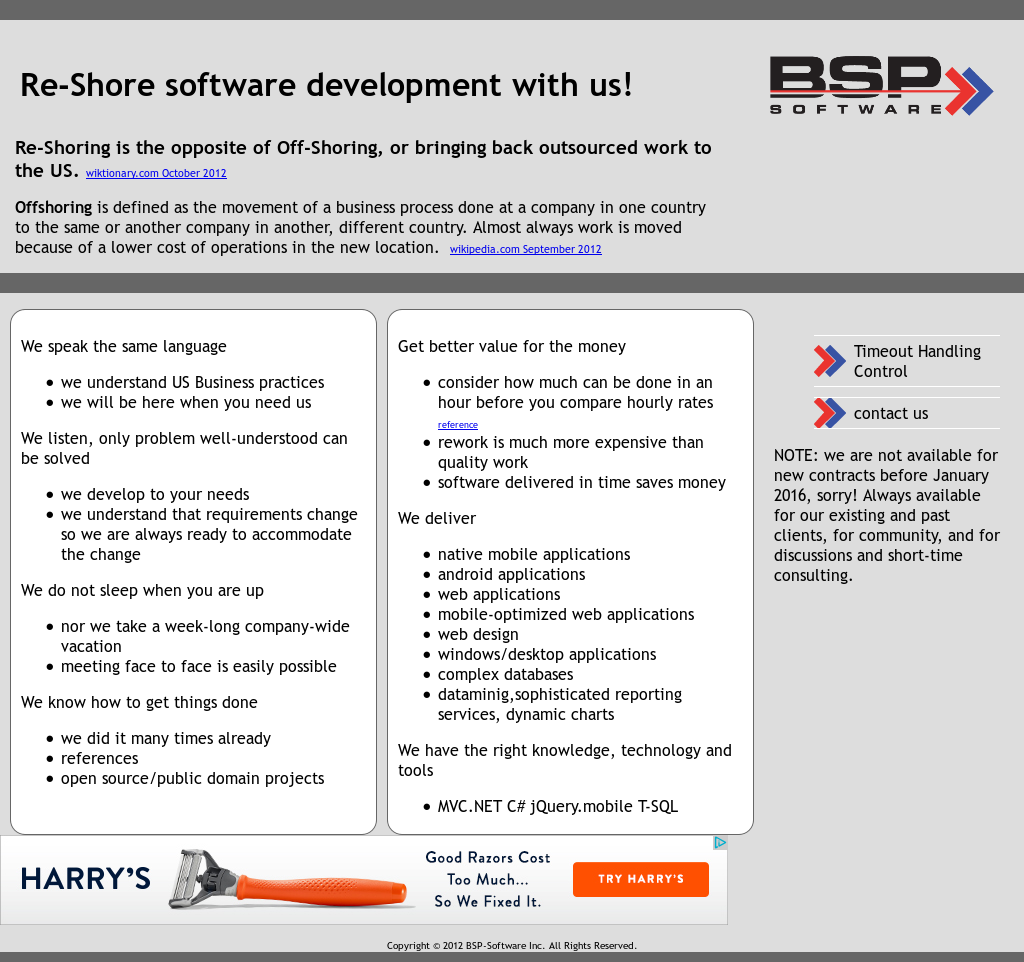 BSP software Competitors, Revenue and Employees - Owler