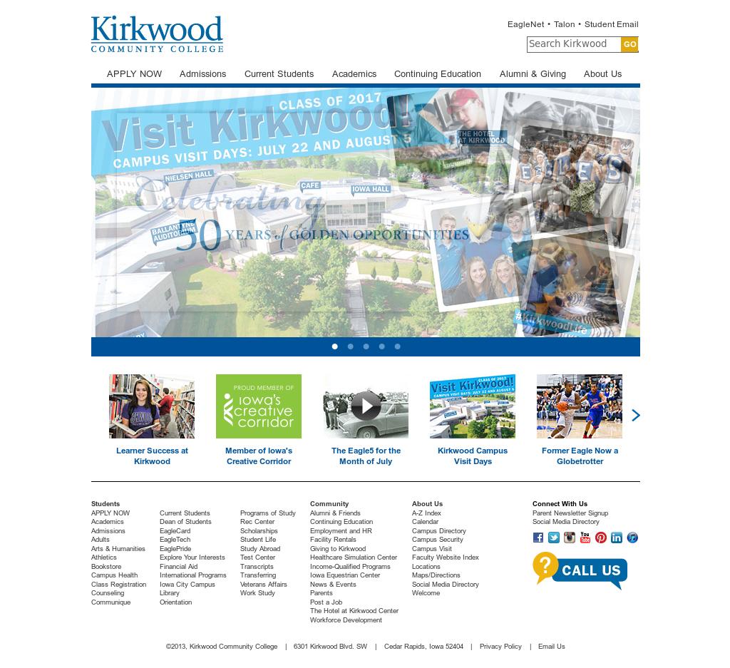 Kirkwood Community College Campus Map.Kirkwood Community College S Environmental Training Center