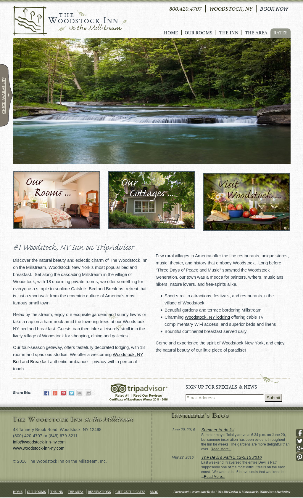 Woodstock Inn on the Millstream Competitors, Revenue and Employees