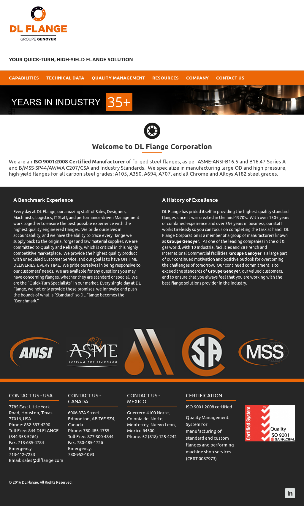 DL Flange Competitors, Revenue and Employees - Owler Company Profile