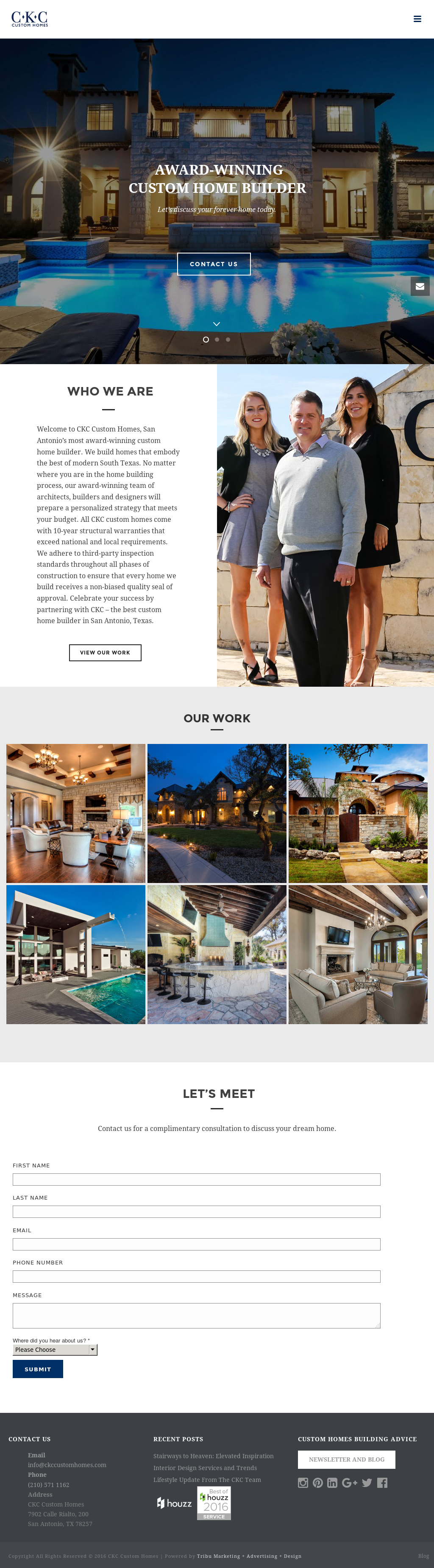 CKC Custom Homes Competitors, Revenue and Employees - Owler Company