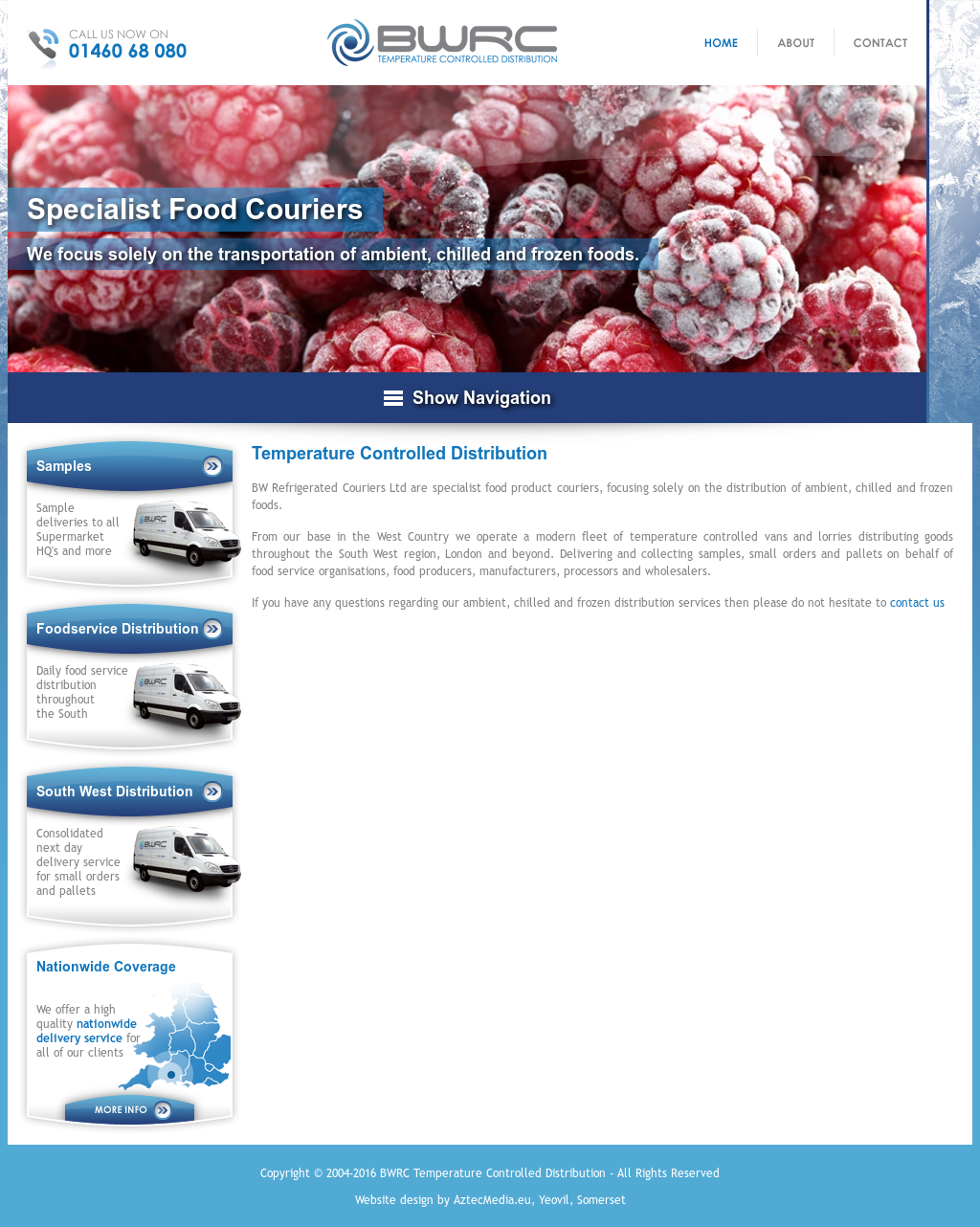 B W REFRIGERATED COURIERS LIMITED Competitors, Revenue and Employees