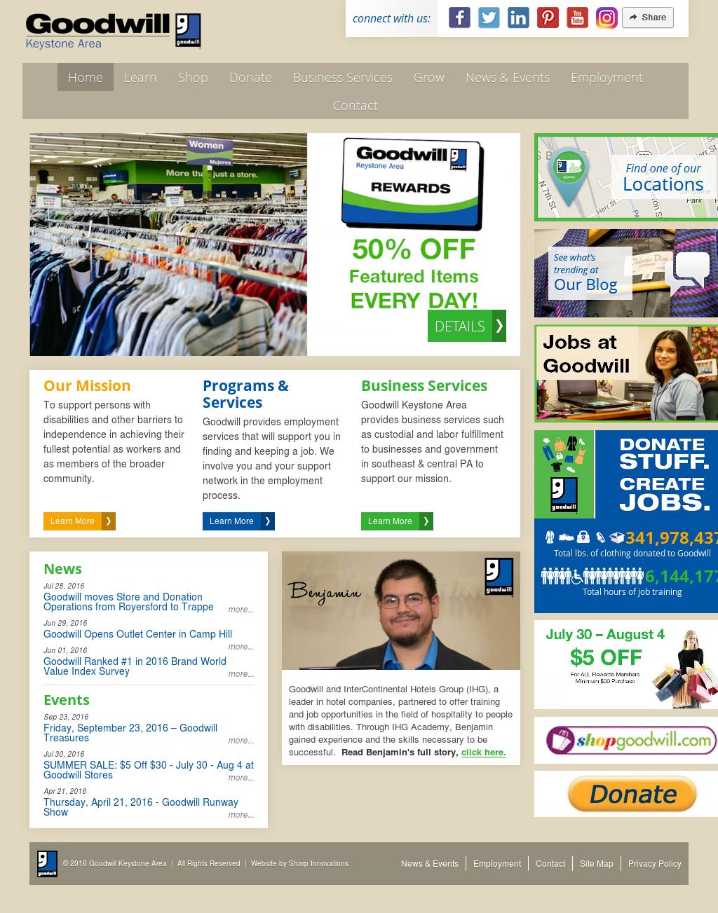 379304ac056 Goodwill Industries Keystone Area Competitors