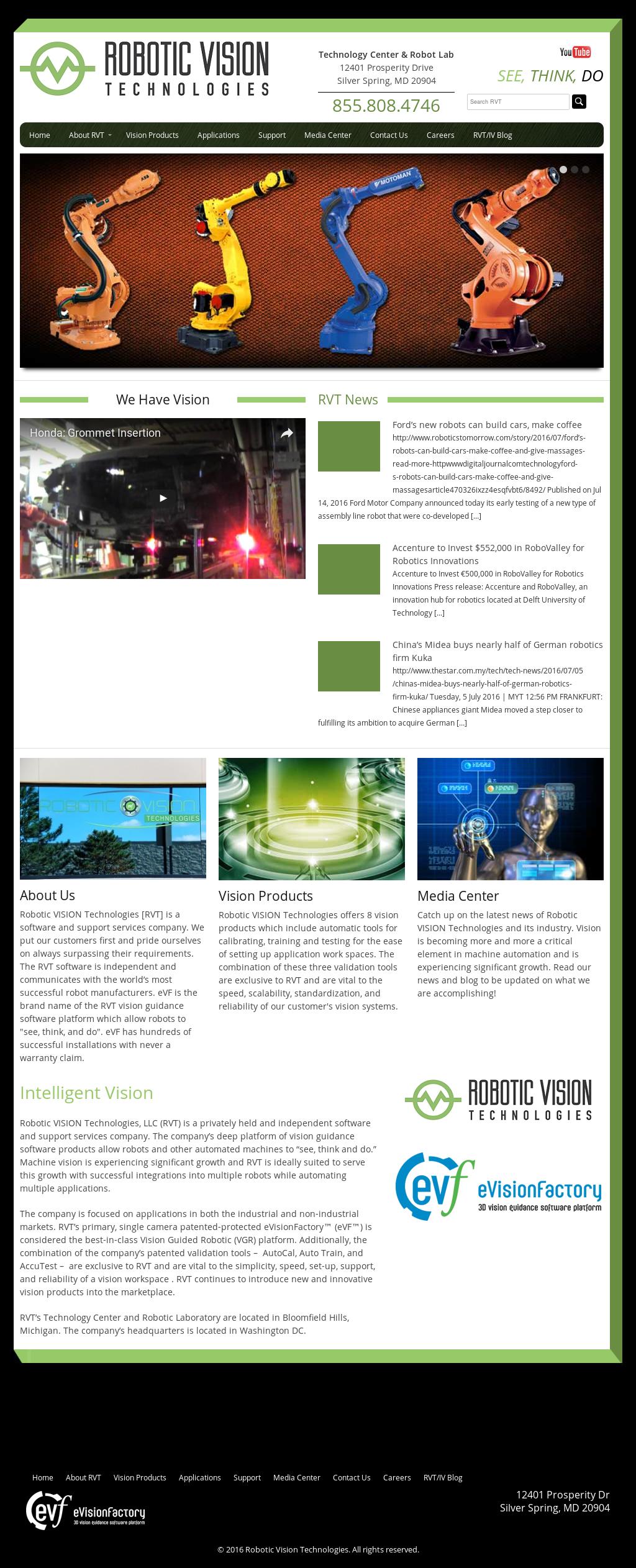 Robottic Vision Technologies Competitors, Revenue and
