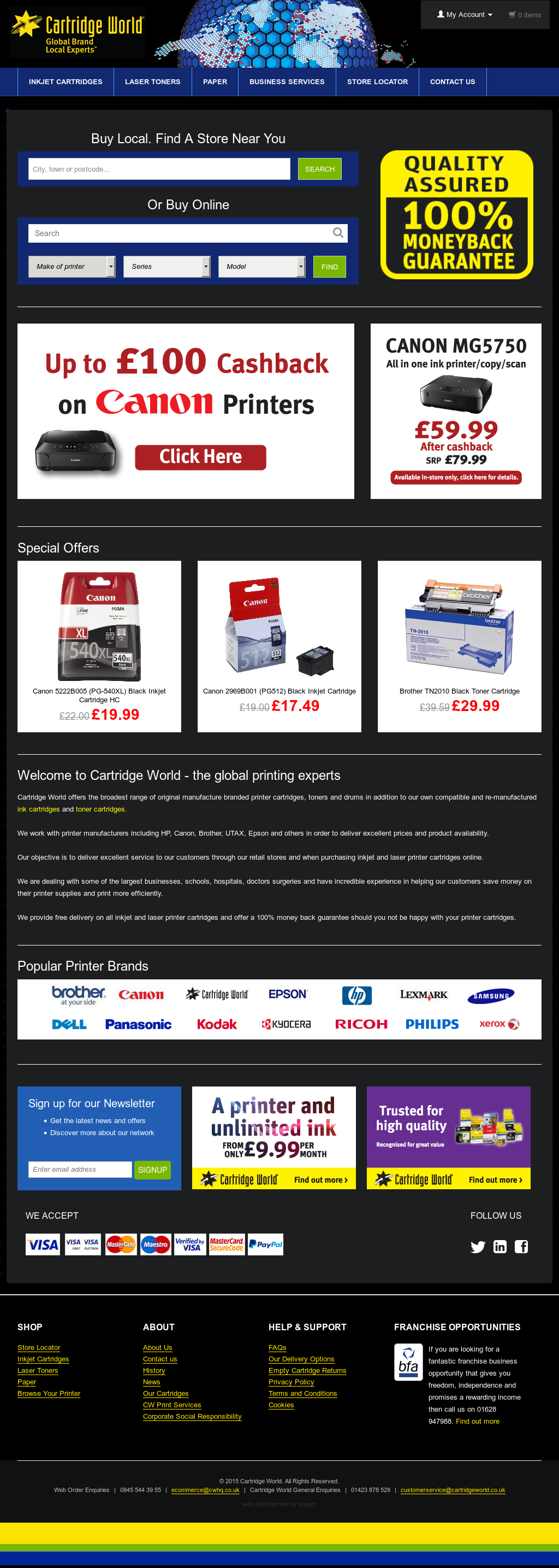 Cartridgeworld Competitors, Revenue and Employees - Owler Company