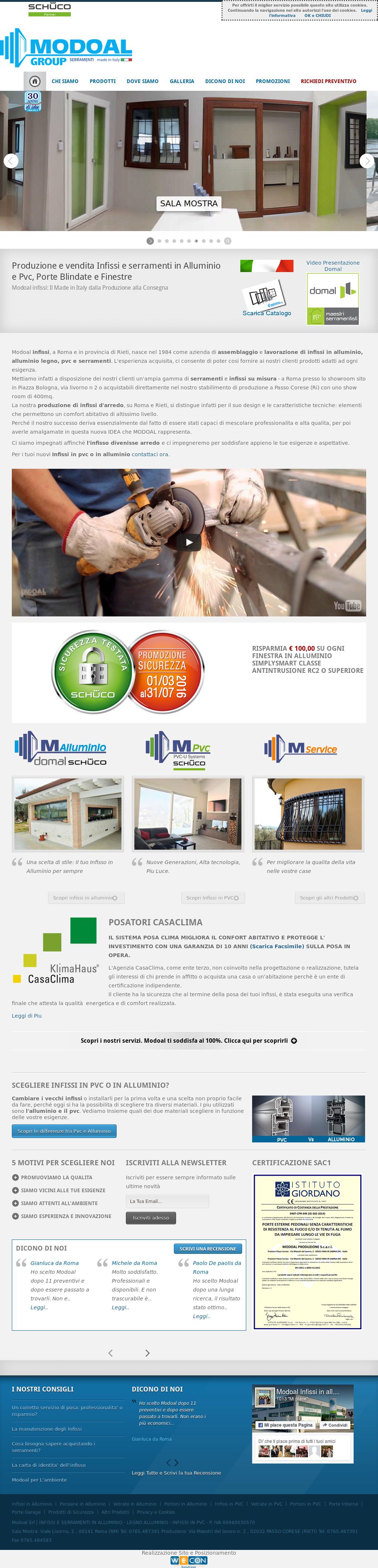 Serramenti In Alluminio O Pvc modoal infissi in alluminio e pvc competitors, revenue and