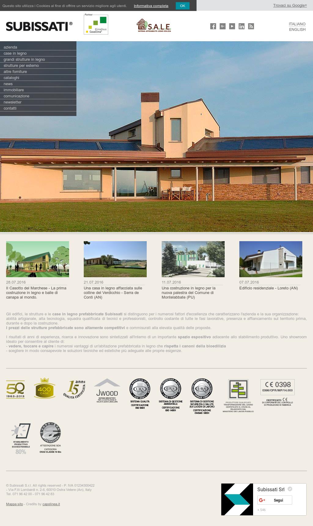 Casa Di Legno Costi subissati srl strutture e case in legno competitors, revenue