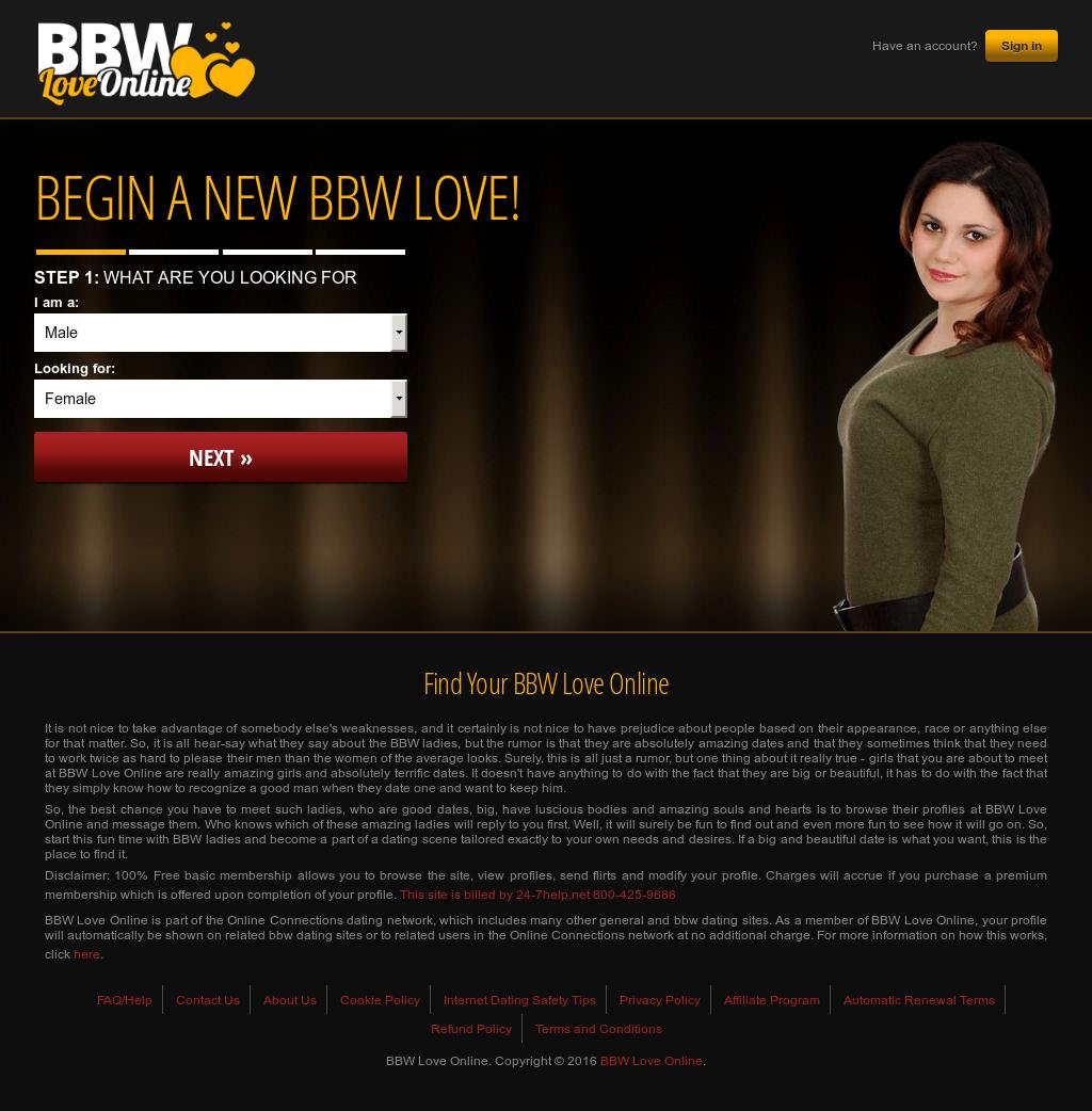 Bbw from online