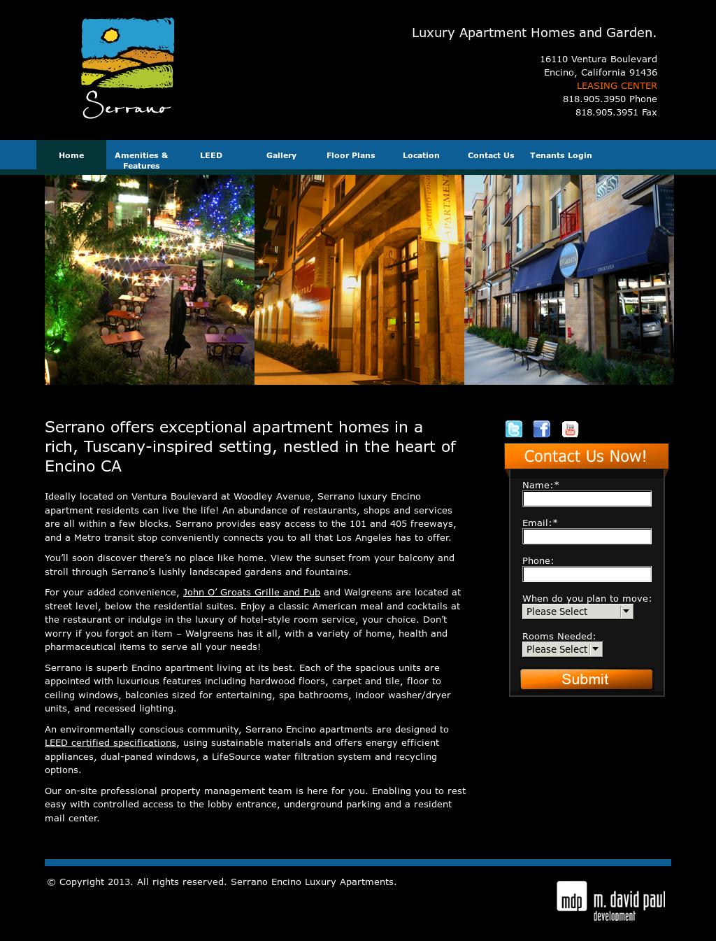 Serrano Encino Luxury Apartments California