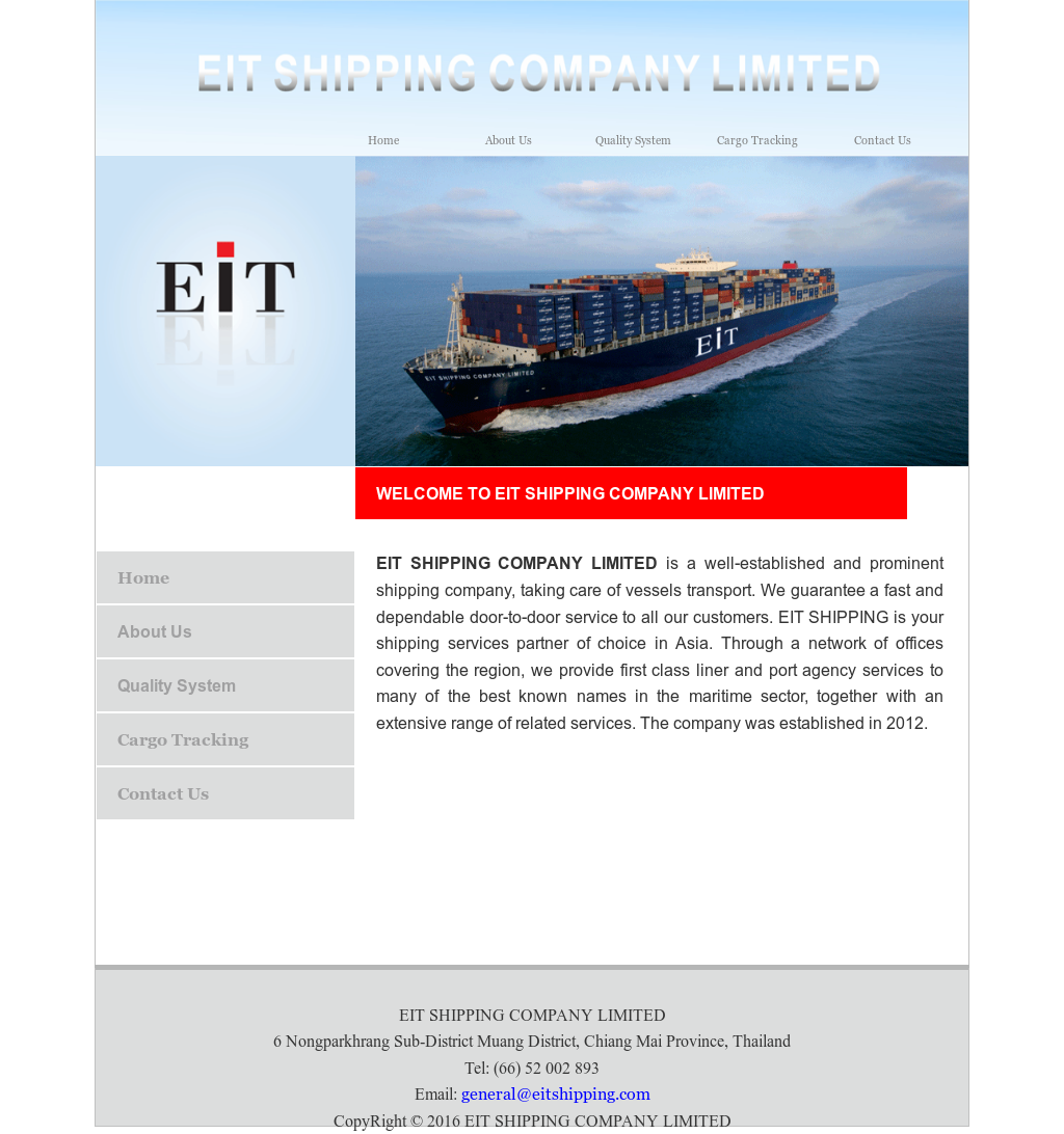 Eit Shipping Company Competitors, Revenue and Employees