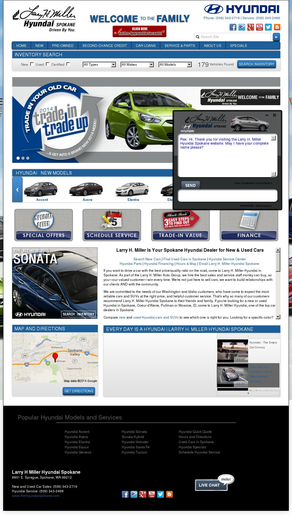 Larry H Miller Hyundai U003eu003e Larry H. Miller Hyundai Spokane Company Profile |  Owler