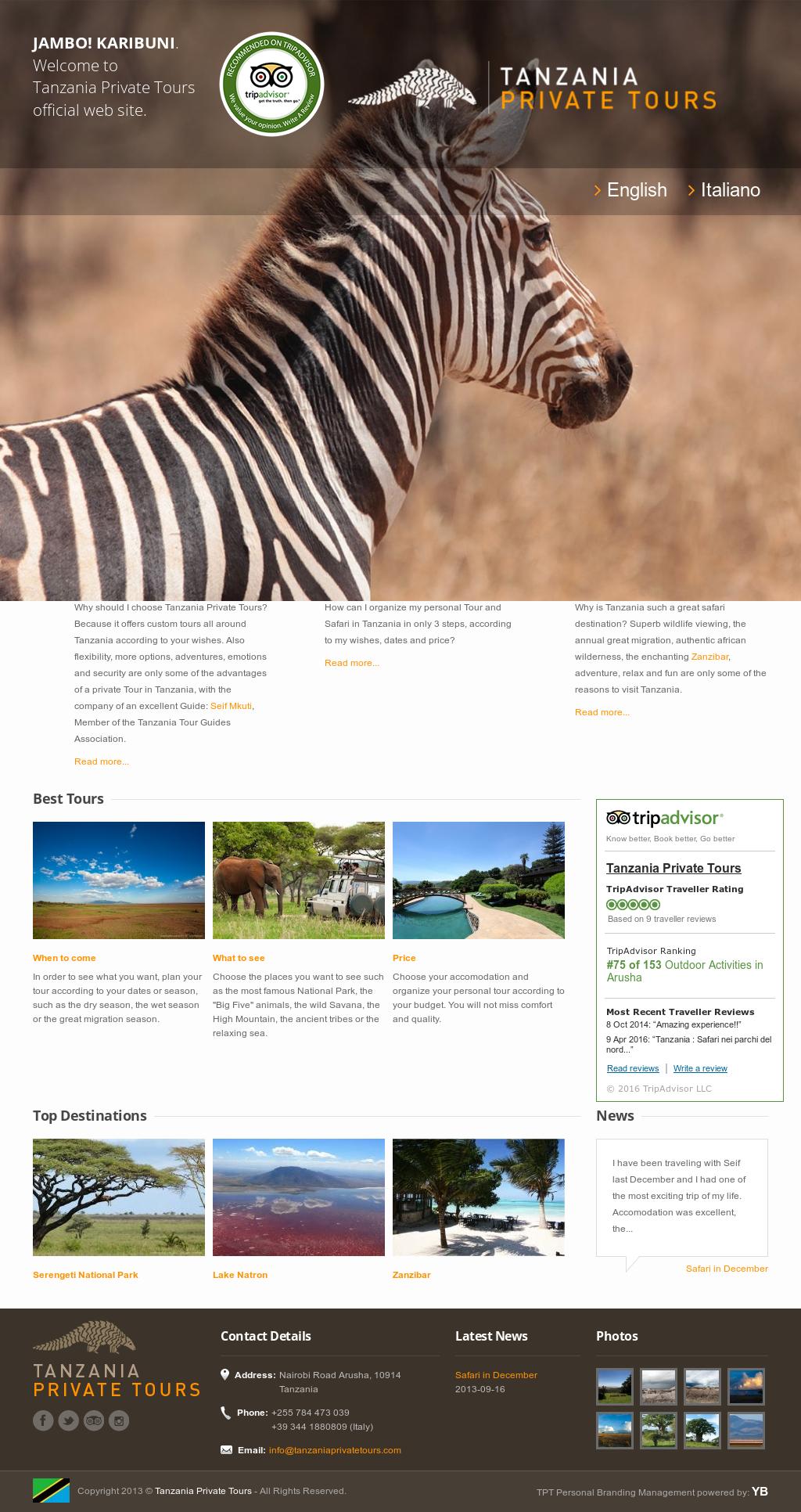 Seif Mkuti - Private Safari In Tanzania Competitors, Revenue