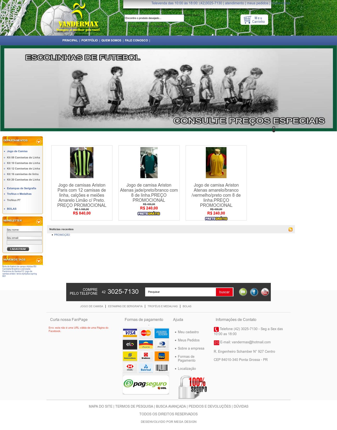 75c21004718e2 Vandermax Uniformes Esportivos E Jogos De Camisa Competitors ...