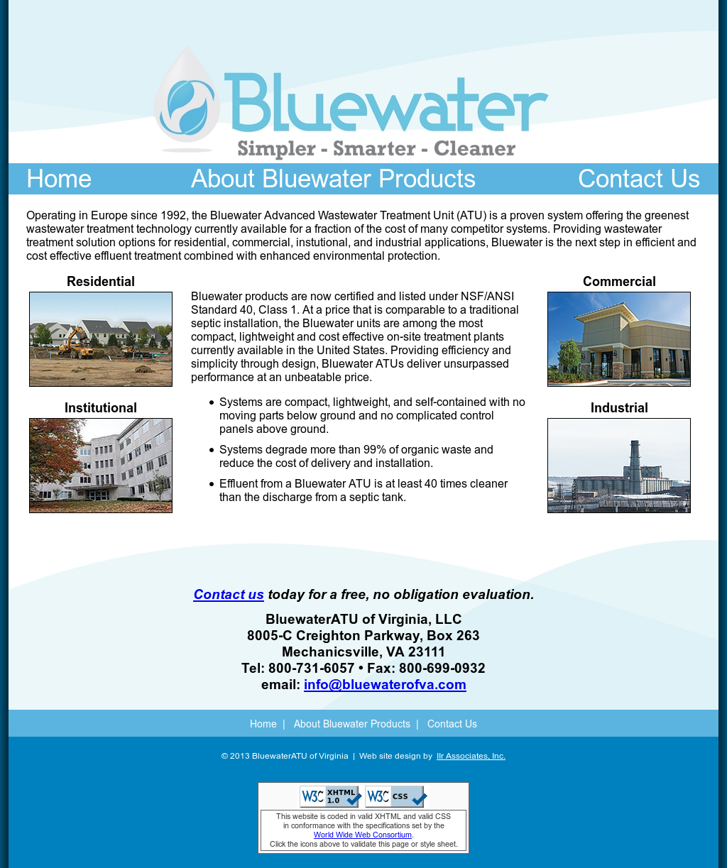 Bluewater Atu Of Virginia Competitors, Revenue and Employees
