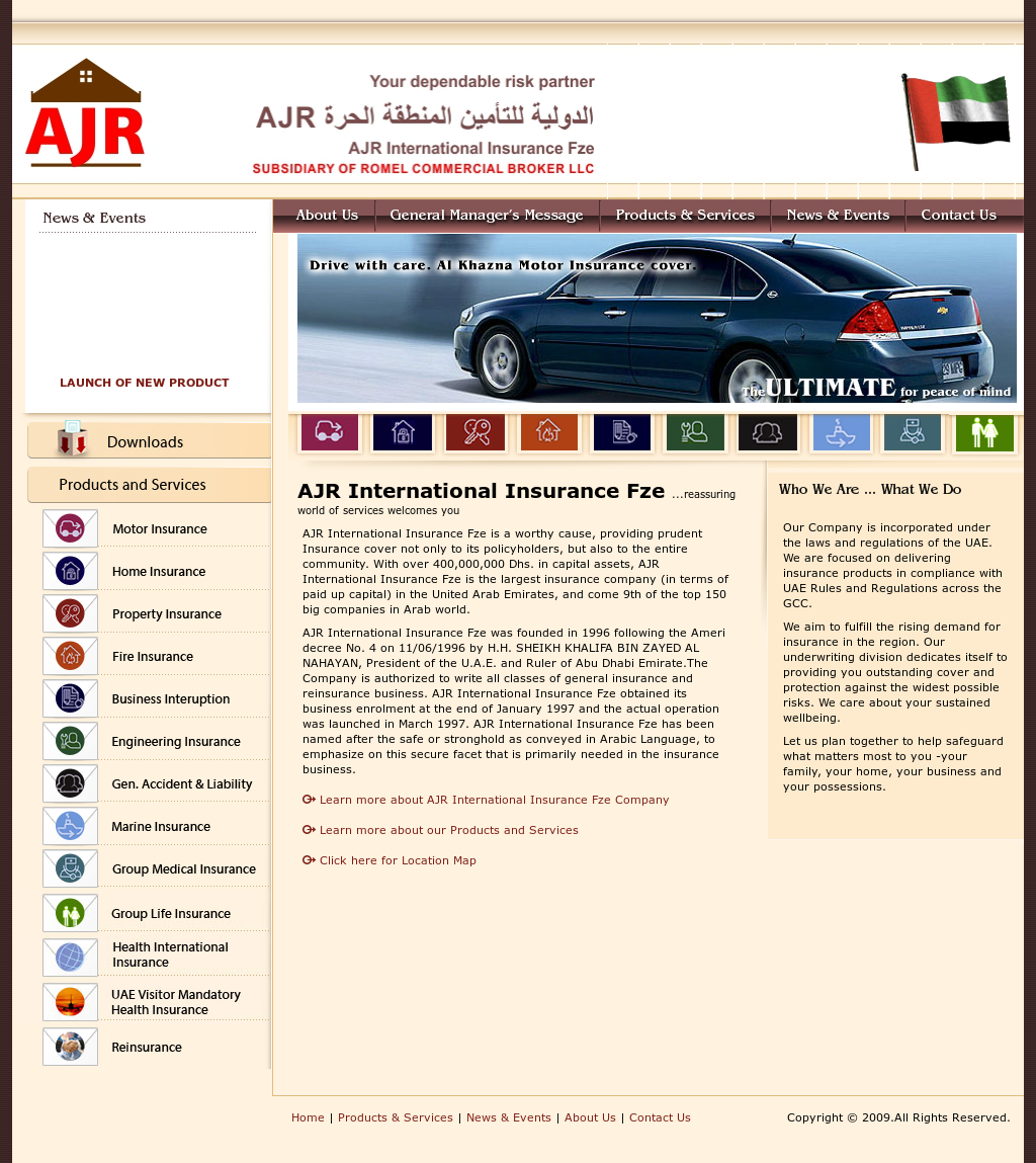 Ajr International Insurance Fze Competitors, Revenue and