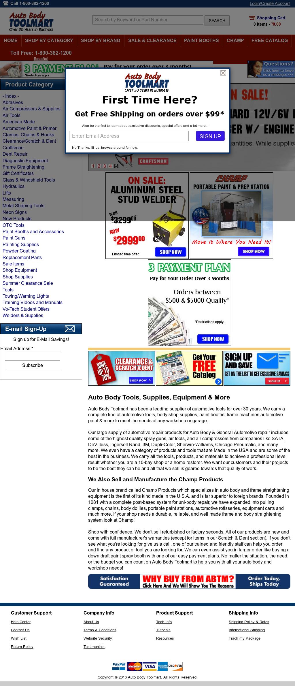 Auto Body Toolmart Competitors Revenue And Employees