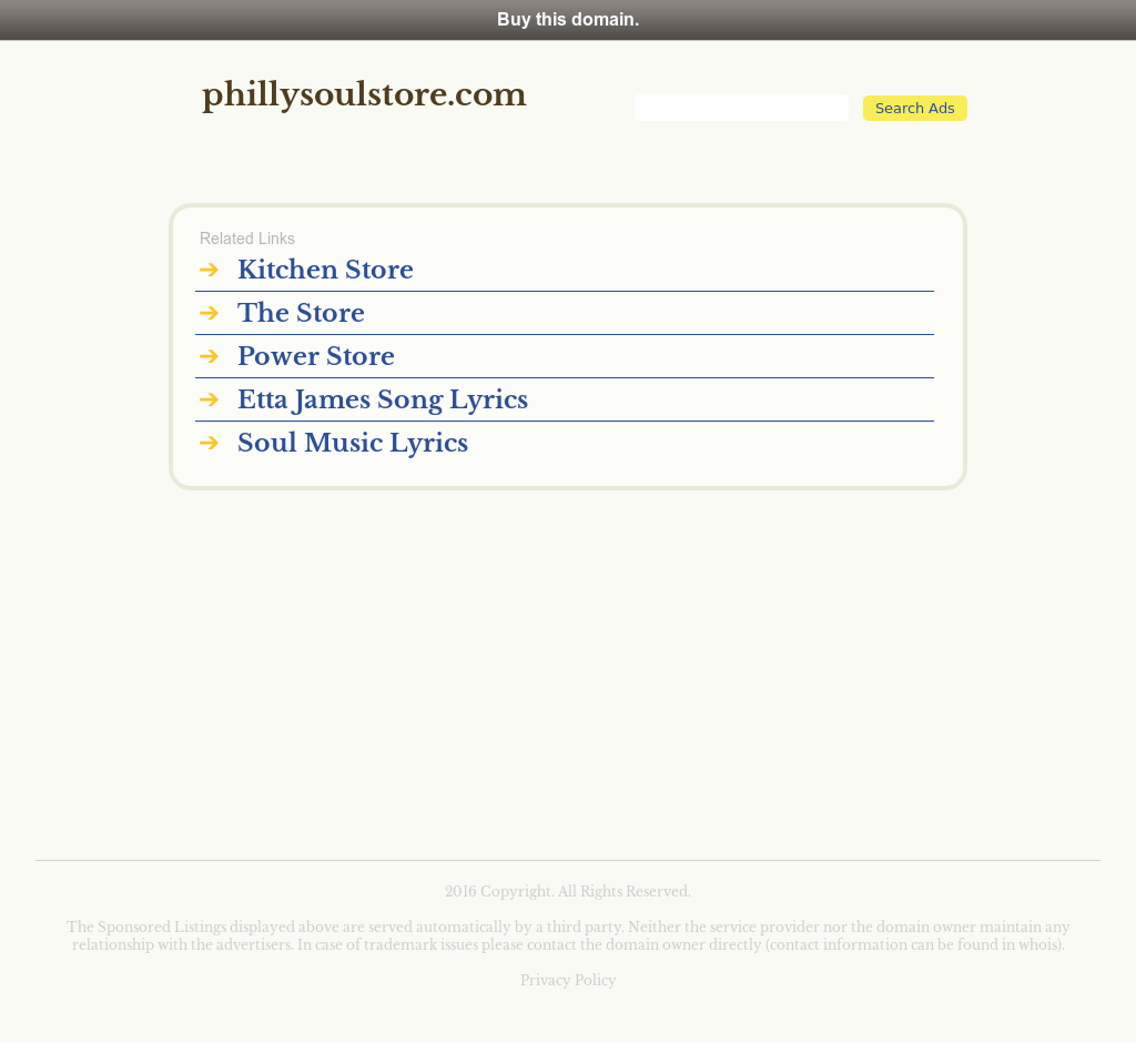 Philly Soul Store Competitors, Revenue and Employees - Owler