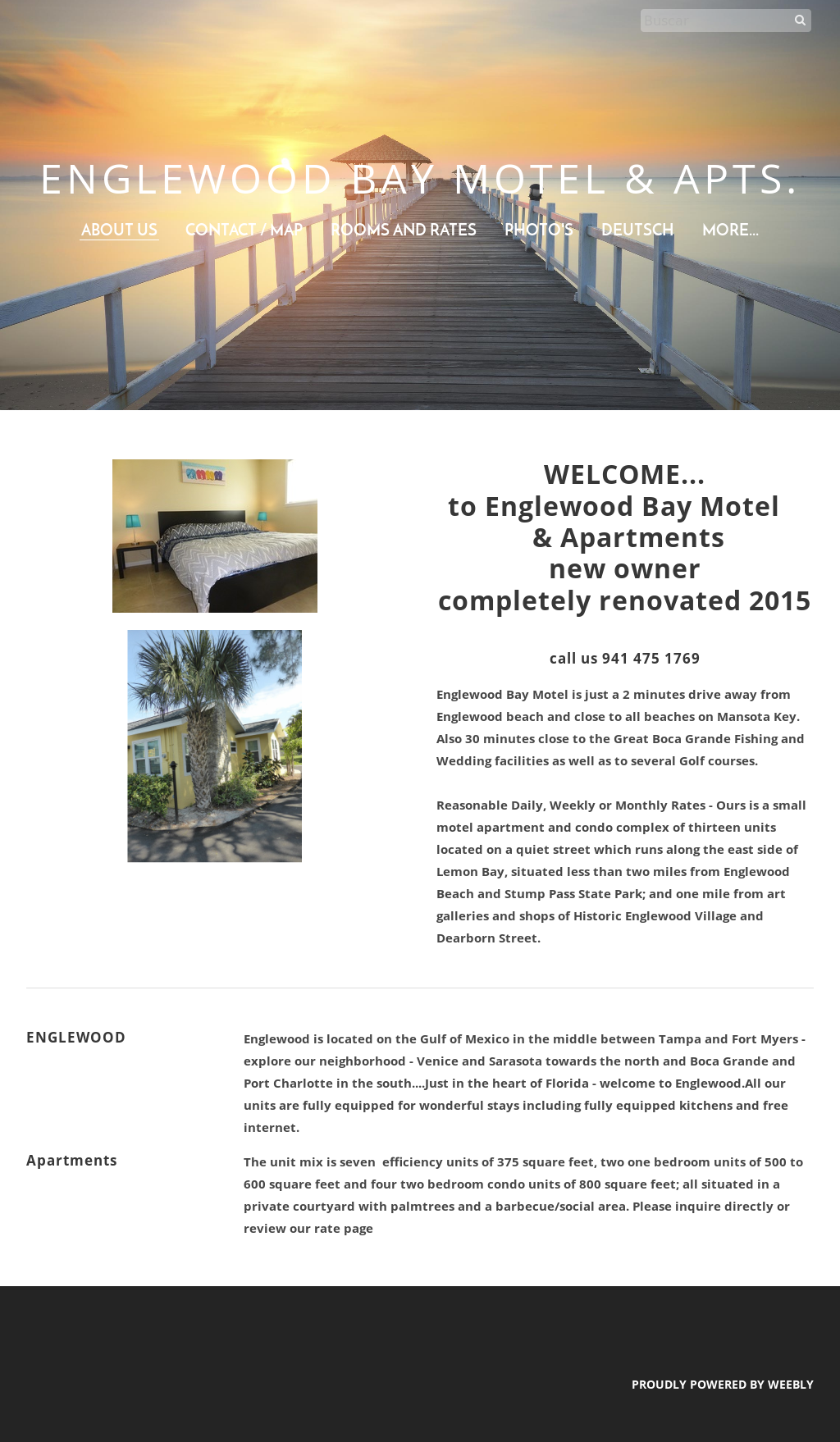 Englewood Bay Motel & Apartments Competitors, Revenue and