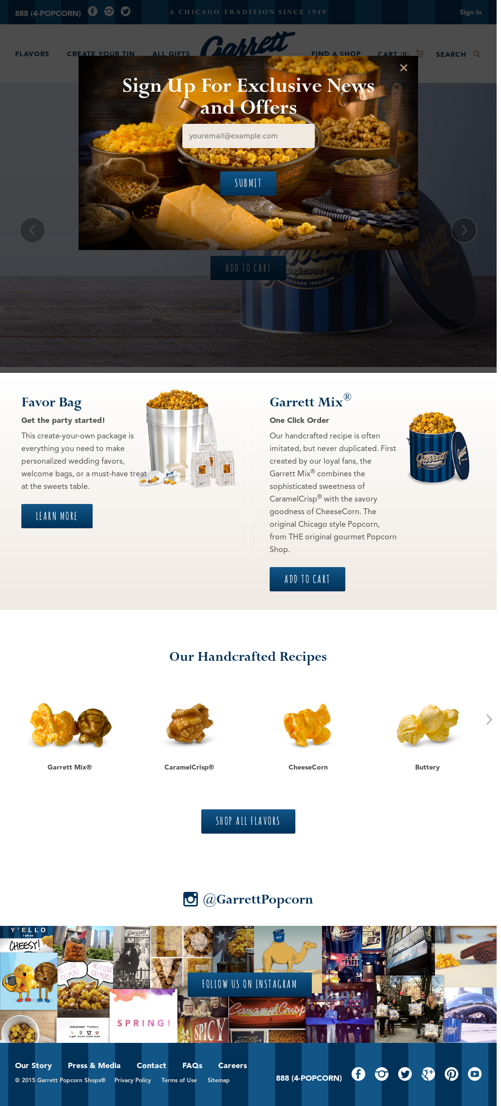 Garrett Popcorn Shop Competitors, Revenue and Employees