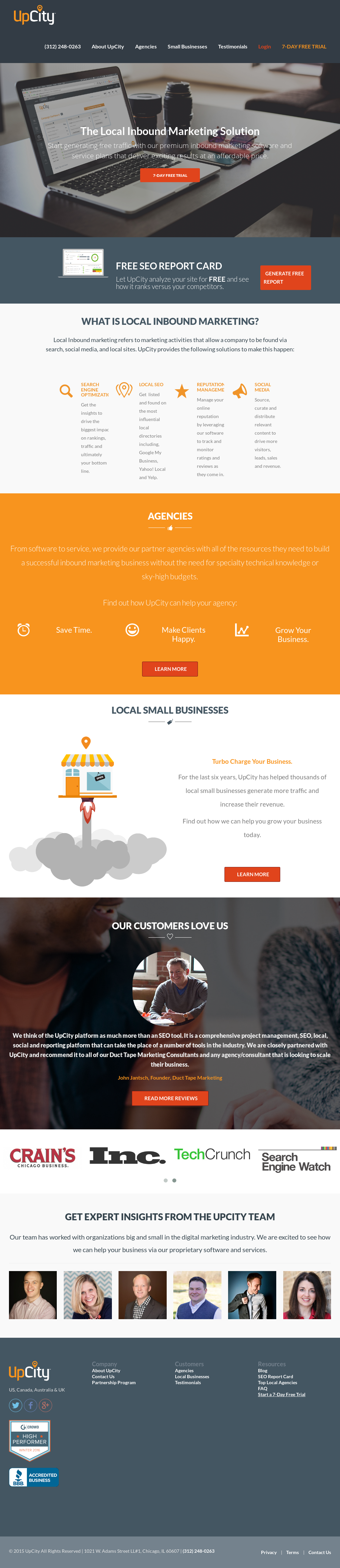 UpCity Competitors, Revenue and Employees - Owler Company Profile
