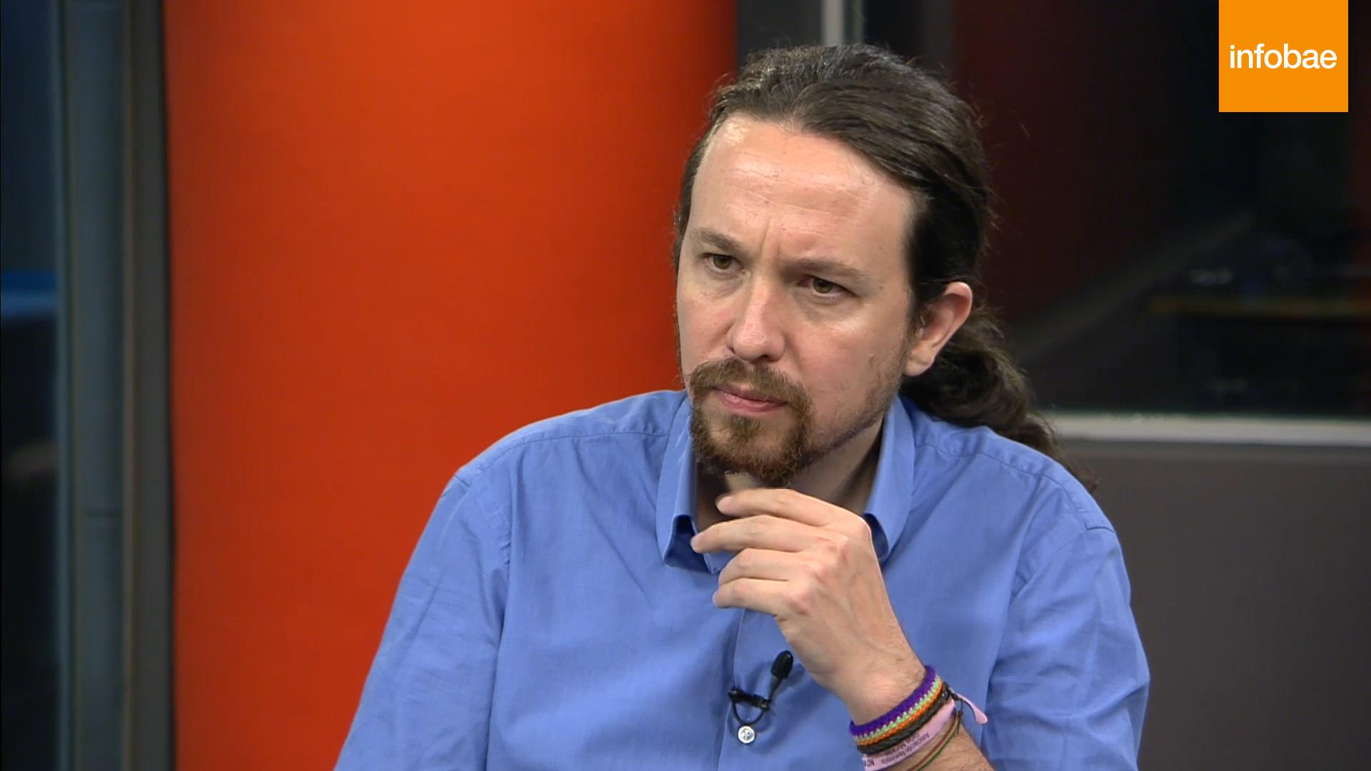 Pablo Iglesias Tengo Pendiente Vivir En Argentina Infobae