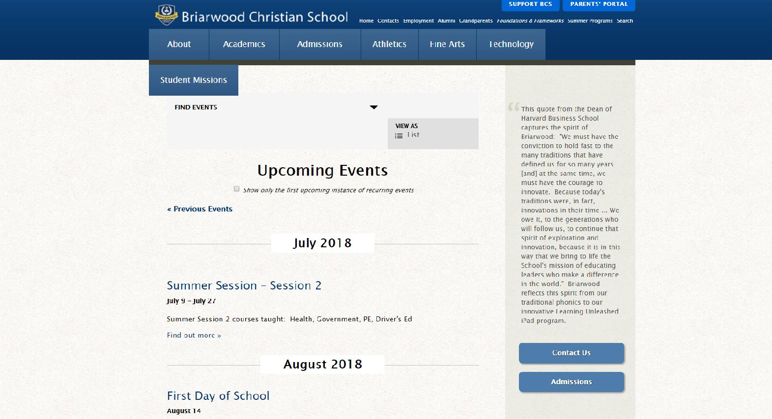 What Your School Website Needs   Infomedia, Inc