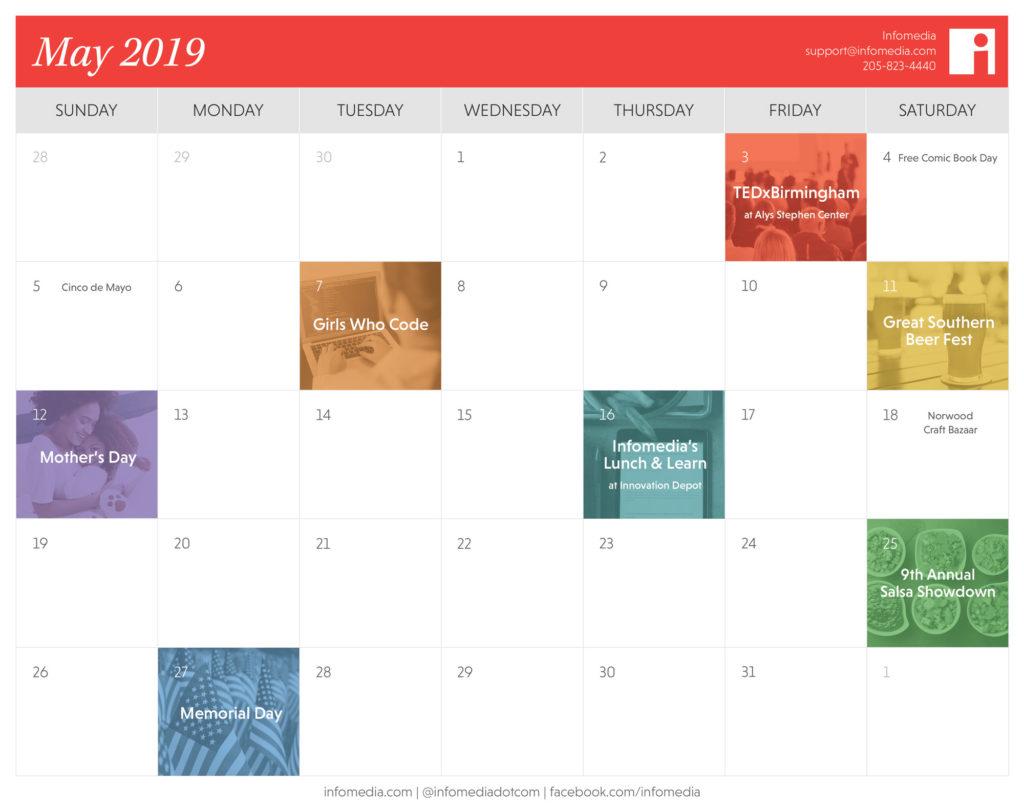 birmingham may events calendar