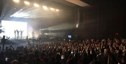 Camila en Puerto Rico, un concierto intimo