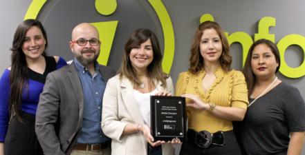 Infopáginas premiado por segundo año consecutivo por Google a nivel de Latinoamérica