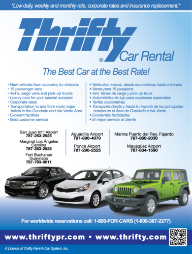 Thrifty Car Rental Ponce Puerto Rico