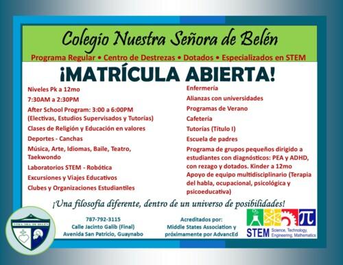Colegio Nuestra Senora de Belen